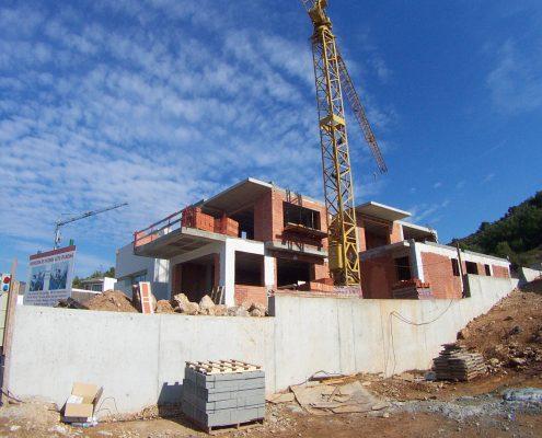 Construcción chalet en Sitges