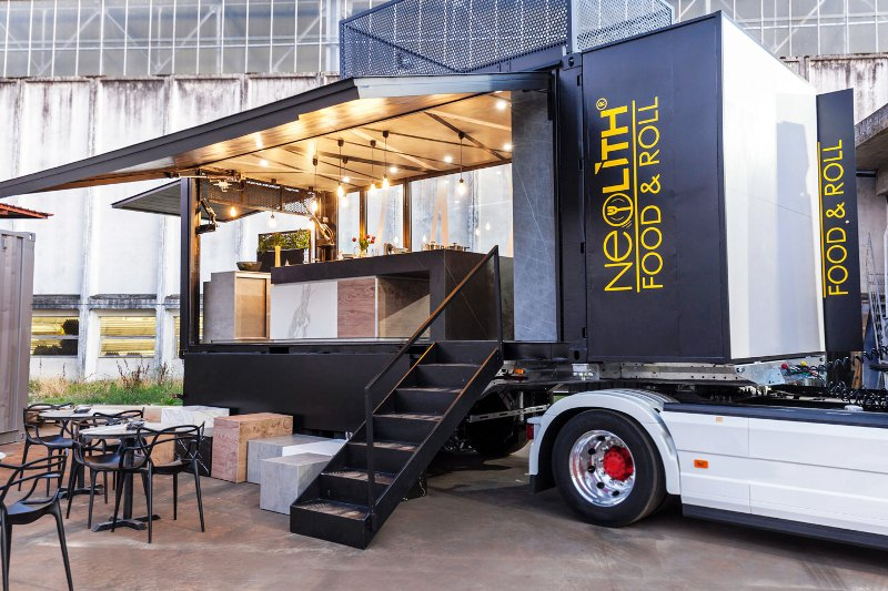Neolith Food and roll, trailer
