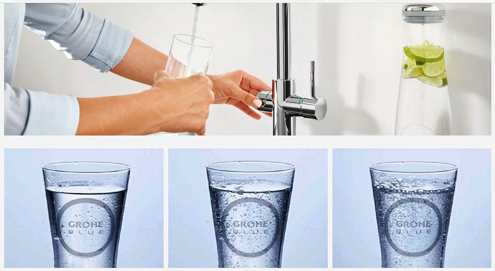 agua carbonatada grifo
